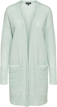 SELECTED Mohair Mix - Knitted Cardigan Women Green; Pastel