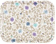 LINUM, Lovisa Bricka, blå blomster