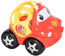 Babylegetøj - Rød legetøjsbil med rangle