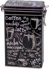 Kaffeburk med knäpplock Macchiato 500 g