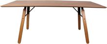 Vinther Spisebord egetræ - Længde 180 cm (Restparti)