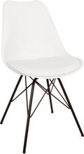 Comfort spisebordsstole hvid