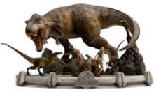 Iron Studios Jurassic Park Demi Art Figur im Maßstab 1:20 The Final Scene 48 cm