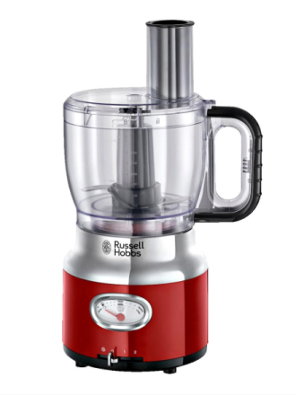 Russell Hobbs Food Processor Retro Ribbon Red 25180-56 Russell Hobbs rød