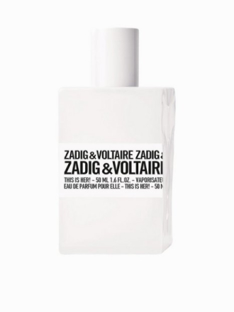 Parfyme - Transparent Zadig & Voltaire This Is Her Edp 50 ml