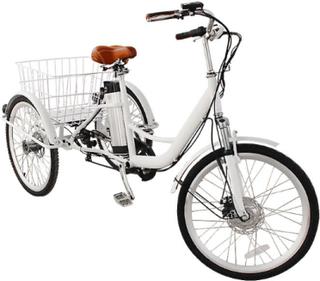 Elektrisk sykkel med 3 hjul - hydrauliske bremser