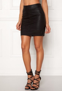 ONLY Base Faux Leather Skirt Black 36