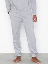 Gant Pajama Pants Ctn Jersey Nattøy Grey Melange