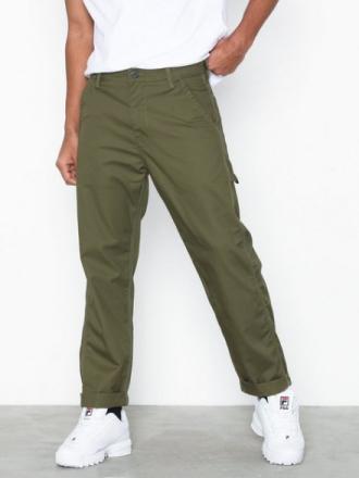Lee Jeans Carpenter Olive Housut Green