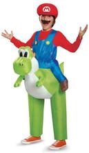 Super Mario og Yoshi kostyme for barn