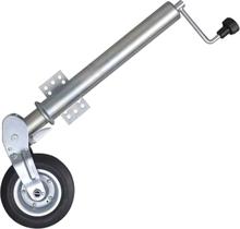 vidaXL Kraftigt och fällbart stödhjul 60 mm