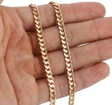 Halskedja med 18K Guldplätering 4,5 mm -längd 50 cm resp. 60 cm