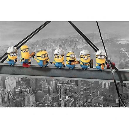 Avskyelig meg plakat Minion skyskraper 160