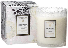 Voluspa Mokara Scalloped Candle 50 tim