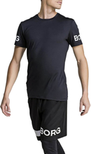 Björn Borg BORG Tee, black beauty, large T-Shirt herr