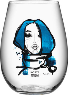 Kosta Boda Miss You 2-pack Sara Woodrow