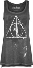 Harry Potter - The Deathly Hallows -Topp - mørkegrå