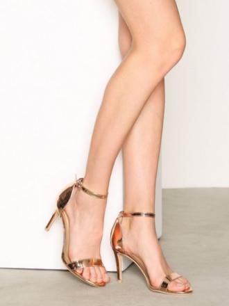 NLY Shoes Heel Sandal Roségull