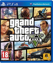 Grand Theft Auto V - Sony PlayStation 4 - Action