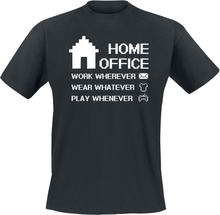 Home Office - -T-skjorte - svart