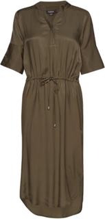 Slzaldana Dress Knælang Kjole Grøn Soaked In Luxury