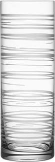 Orrefors Graphic Vas Cylinder Orrefors Design