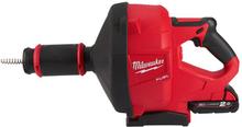 Milwaukee M18 FDCPF10-201C Avloppsrensare med 2,0Ah batteri och laddare