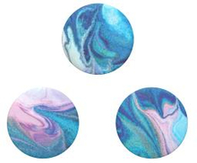POPSOCKETS Blue Nucolor Bombs Avtagbara MINI Grip 3pack