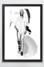 Tavla Mr. Man - 70x50 cm