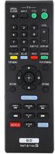 Universal Rmt-b115a Fjärrkontroll Sony Blu-ray-spelare Svart