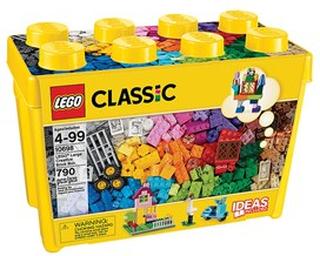 LEGO Classic 10698 LEGO® Classic Stor Fantasiklosslåda 4+ years