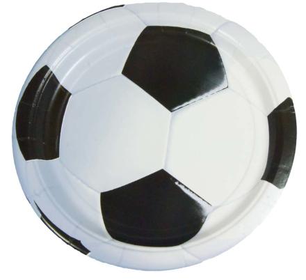 Fodbold slikposer, 8 stk - TheFairytaleCompany