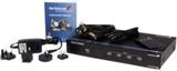 4 port VGA-video Ljud med RS232-kontroll - video-/