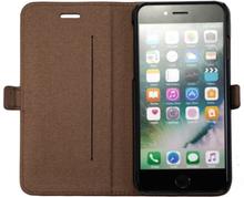 Cirafon Leather Wallet Iphone 8, Iphone 7, Iphone Se (2020) Ruskea