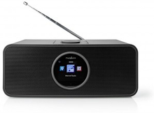 Internetradio | 42 W | FM | Bluetooth® | Fjärrkontroll | Svart