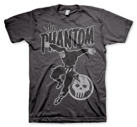 Phantom Jump Distressed T-Shirt, Basic Tee