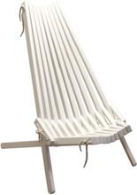 2 st Calcutta stol - Vit