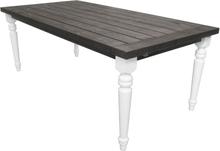 Matbord Milton - Vit/grå