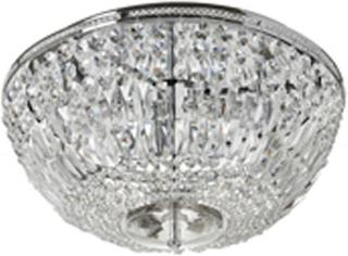 Adelsö kristallkrona stor (Förkromad/blank)