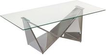 Soffbord Glas (120 x 60 x 45 cm) (Färg: Guld)