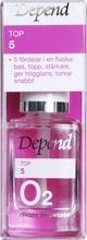 Depend O2 Top 5 Nagellack, 10 ml