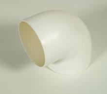 Skarvrör Separett 75x90 grader vit Vinkel