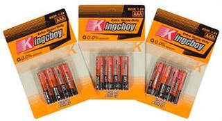 12 stk AAA batterier - Bestasstist batterier