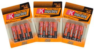 12 stk AA batterier - Bestasstist batterier