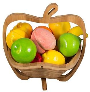 Dekorations Frugter - Pakke med 12 forskellige - Kunstige frugter