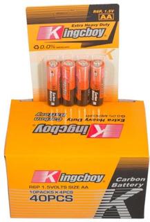 40 stk AA batterier - Bestasstist batterier