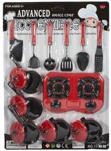 Leketøy kjøkkensett med 21 deler