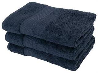 Badehåndklæde - 70x140cm - Egyptisk bomuld - Mørkeblå