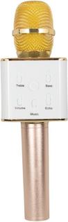 Mikrofon med højtaler og bluetooth - Guld