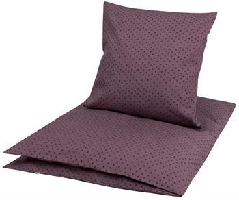 Økologisk baby sengetøj - 70x100 cm - Müsli Cross - Home-tex
